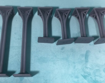G0006 - Supports (Short x4, Tall x2)