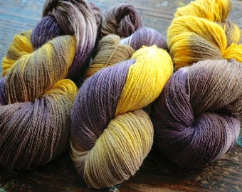 Pure wool soft yarn -- one skein