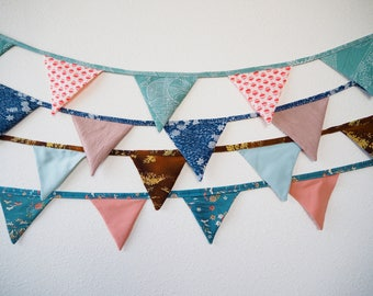 Custom Kimono Remake Triangle Garlands