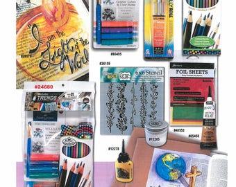 Illuminated Journaling Metallic Trends Bible Journaling Kit