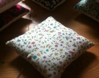 Pin cushion, handmade with Liberty fabrics, Cathy