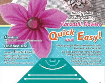 Kanzashi Flower Maker - Pointed Petal Large - Clover 8483
