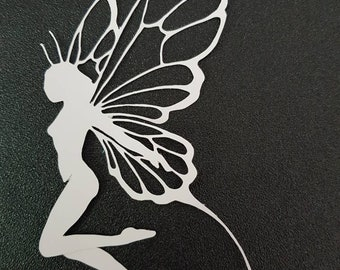 Fairy paper cardstock filigree ornament