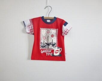 Vintage Red Garden T-Shirt