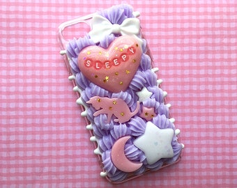 Sleepy Decoden Phone Case for iPhone 7 & 8 | Kawaii Phone Case Ready to Ship
