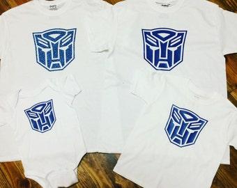 Transformer shirt. Autobot shirt