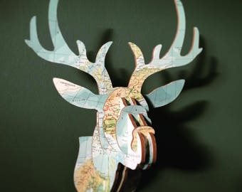 Wooden Reindeer Atlas