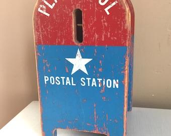 Vintage Toy US Postal Mailbox