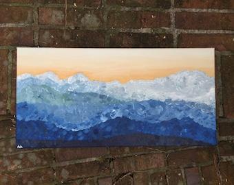 Abstract Blue Ridge Mountains