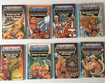 Vintage Retro 1980s 80s Ladybird Transformers childrens set of 6 books book