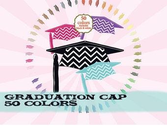 Graduation clipart clip art, college clipart clip art, high school clipart clip art Chevron : c0288 v301 50