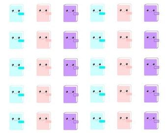 117 kawai planner stickers