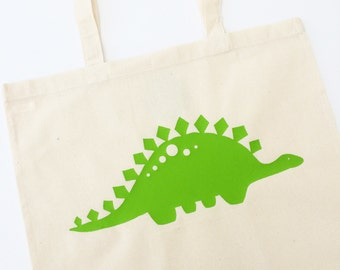 Dinosaur Tote Bag With Optional Personalisation