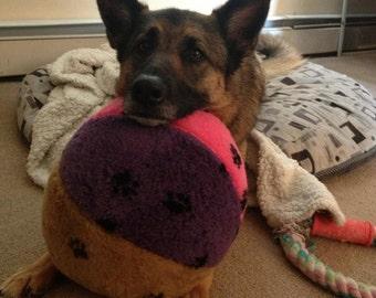 Big Ball Dog toy by Doodlebug Duds