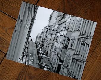 Photo black and white-Paris Montmartre