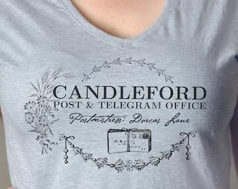 Lark Rise to Candleford T-Shirt on Dolman or Unisex VNeck