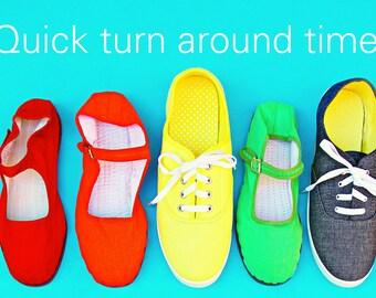 Quicker turn around time