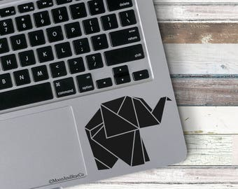 Origami Elephant                  , Laptop Stickers, Laptop Decal, Macbook Decal, Car Decal, Vinyl Decal