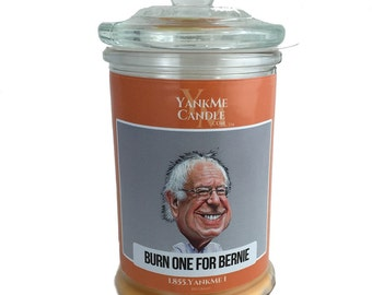 Bernie Sanders Funny Candle