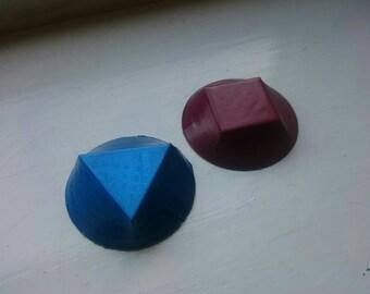 Steven Universe Inspired Ruby / Sapphire / Garnet Gem Cosplay Prop