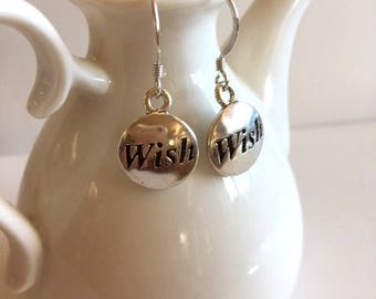 Sterling Silver Earrings-Wish Silver Earrings