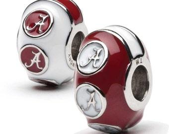University Of Alabama Bead Charm Set Of Two