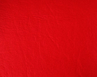 "Red Faux Leather Upholstery Vinyl 54"" wide By The Yard"