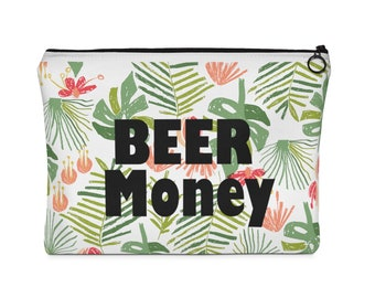 Beer Money Pouch Gift Bag