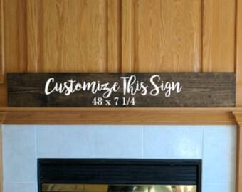 Custom sign, custom wood sign, custom wooden sign, custom plaque, custom painted sign, wood sign, wooden sign, wood plaque, custom gift