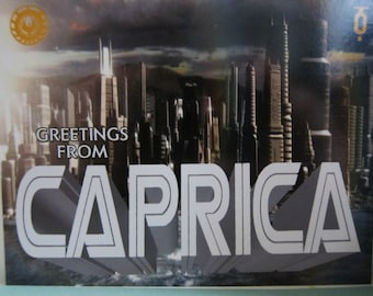 Battlestar Galactica - Welcome to Caprica Postcard