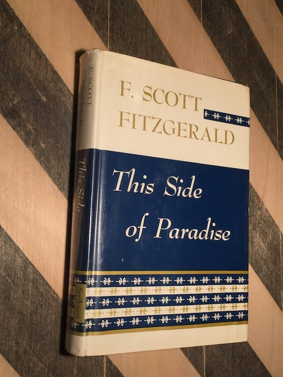 This Side of Paradise by F. Scott Fitzgerald (1948) hardcover book