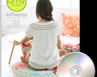 Amy Butler Softwares - 22 sewing projects on CD