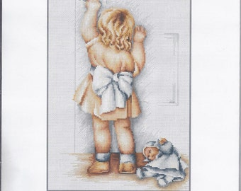 Cross Stitch Kit Mother's Helper Luca-s Anchor threads