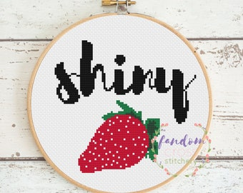 Shiny Firefly Cross Stitch PDF Pattern | Instant Digital Download | Geek Cross Stitch Pattern | Firefly Cross Stitch Pattern