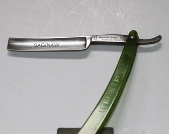 Vintage Saginaw  Straight Razor