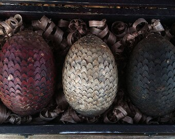 LARGE Game of Thrones Inspired Petrified Dragon Eggs. FREE SHIPPING