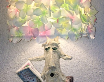 Pretty In Pink Fairy Tree Nursery Lamp