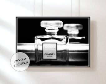 Chanel Print, Perfume Print, Still Life, Wall Art, Art, Photography, Digital Print, Monochrome Print, Large Print, Beauty Print, Modern