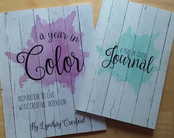 A Year In Color Devotional and Journal