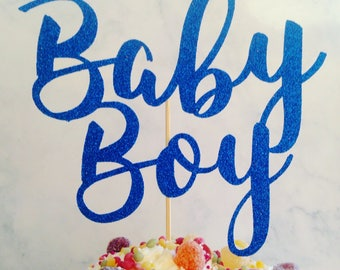 baby boy cake topper, boy baby shower, baby shower cake topper, baby shower cake decoration, boy cake decor