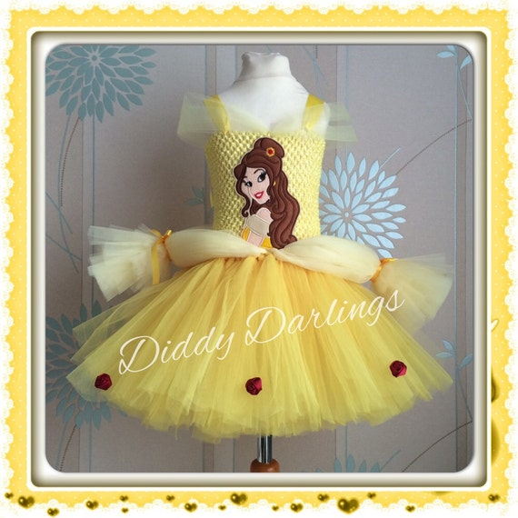 Beauty & The Beast Belle Tutu Dress