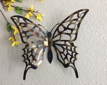 Metal Butterfly   Metal Art Butterfly  Home Decor   Metal Art   Wall  Hangings