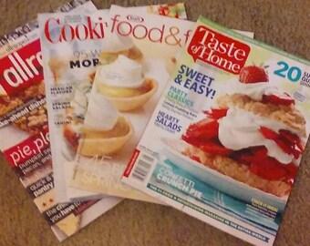 Four Recipe-Filled Magazines!