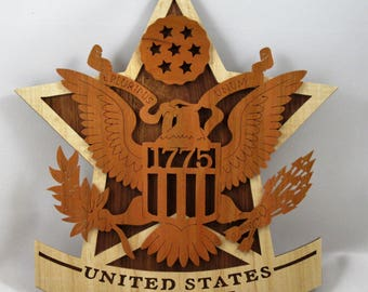 U. S. Army Wall Plaque