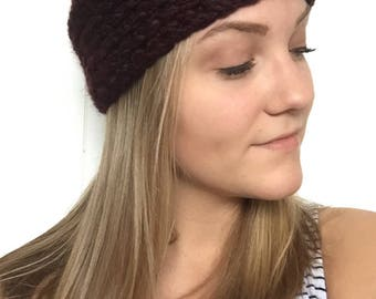 Crochet Thick Headband