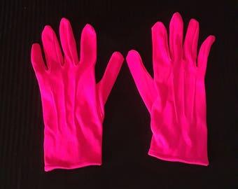Men's Dress Gloves -  Hot Pink