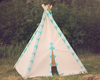 Kid's Teepee Play Tent No. 0299