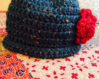 Woollen hat and scarf