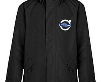 Volvo Quilted Polyester Wind and Water Resistant Winter Jacket