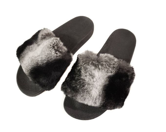 Rex Fur Slippers,Fur Slippers F847